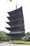 第49回 京の冬の旅 非公開文化財特別公開 東寺 五重塔