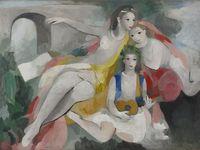美術館「えき」KYOTO 没後60年 マリー・ローランサン展