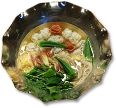 梅干と鱧の鍋
