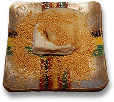 焼胡麻豆腐