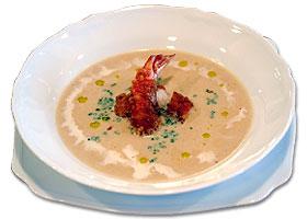 海老のポタージュスープ