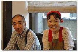 北さんと女将の今村好美さん