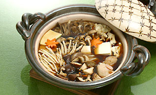 きのこづくし鍋