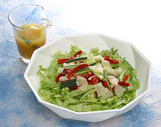 水菜の和風サラダ