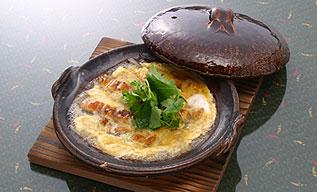 新ごぼうと鰻の柳川風鍋
