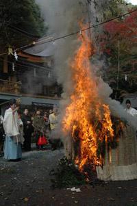 貴船神社 御火焚祭(貴船もみじ祭)