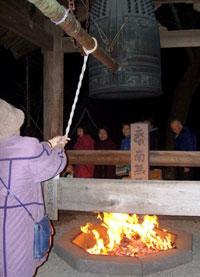 善峯寺 除夜の鐘