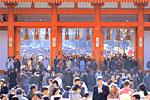平安神宮 終夜万燈と初詣 新春特別祈願