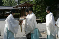 城南宮 夏越の祓え(なごしのはらえ)