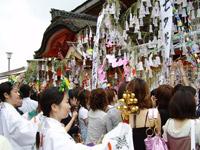 地主神社 恋愛成就 七夕祭