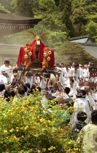 松尾大社 神幸祭(おいで)