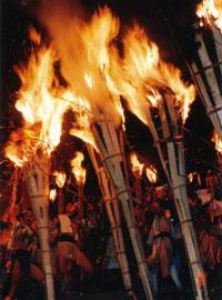 【中止】由岐神社 鞍馬の火祭