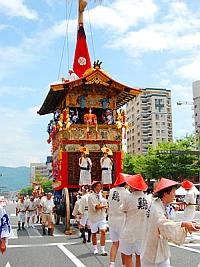 祇園祭 山鉾巡行(前祭)