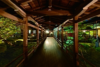 大覚寺 夜間特別拝観 「真紅の水鏡」