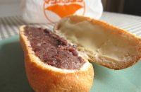【マンハッタンのあんバタ】  パリサク感がたまらないソフトフランスと あんことバターの絶妙トリデンテ!