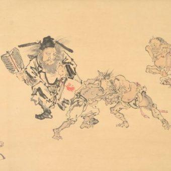 美術館「えき」KYOTO ゴールドマン コレクション  これぞ暁斎!世界が認めたその画力