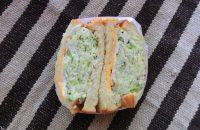 一乗寺「ぱんのちはれ」 もっちり食べ応えある食パンに 負け劣らずの山盛りキャベツ