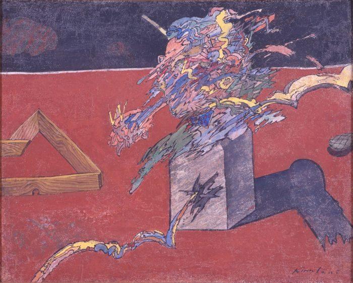 京都国立近代美術館 絹谷幸二 色彩とイメージの旅