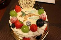 【パティスリー エキュバランス】 手描きイラストもケーキになる! バースデーケーキもクリスマスケーキもここのが食べたい!