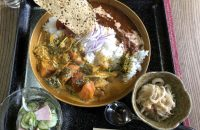 食堂がカレー専門店にチェンジ!?茶山・元田中エリア「やぐ羅」のスパイスカレーの辛さビックリ。