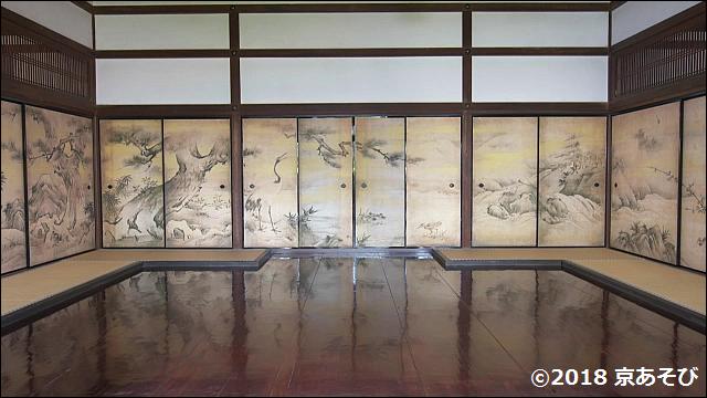 千利休の菩提寺聚光院で狩野永徳唯一の国宝障壁画を堪能