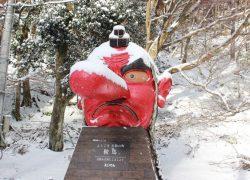 【鞍馬駅】叡山電車の終点は、垣根のない平和を願う鞍馬寺とほっこりできる温泉