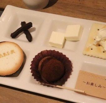 【Dari K主催】チョコレートの食べ比べ・食べ合わせ体験会