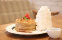期間限定!ほうじ茶ラテのパンケーキを食べに ~ Eggs'n Things 京都四条店