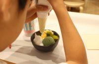 【京都タワーサンド】 京都駅すぐの「京都タワーサンド」へ! 子連れで食品サンプルづくり&地下に広がるフードホールも楽しい!