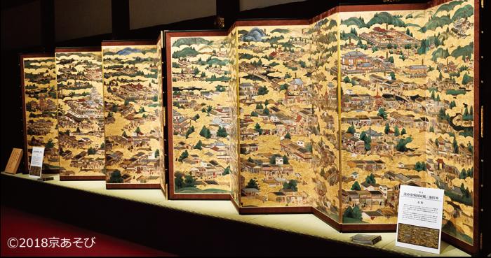 伝匠美 屏風祭り展 -豊臣から徳川へ 時代を書きとめた国宝級の屏風絵を一挙公開-