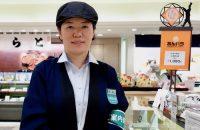 【大丸京都店の餡・コンシェルジュ】大丸京都店の和菓子売り場にいる「餡・コンシェルジュ」に相談しよう!そうしよう!