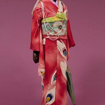 アサヒビール大山崎山荘美術館 谷崎潤一郎文学の着物を見る