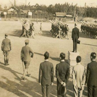 ハリス理化学館同志社ギャラリー第16回企画展学徒出陣75年「私学と兵役-同志社の学徒出陣」