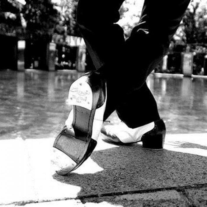 ワコールスタディホール京都  心まで踊りだす! 丹精と仲間たち ジャズ&タップライブの夕べ60×90㎝の大劇場。これがタップ!? こんなタップみたことない