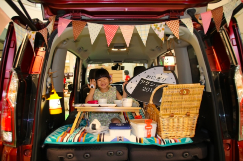TABLE FOR TWO international×NISSAN SERENA イオンモールイベント
