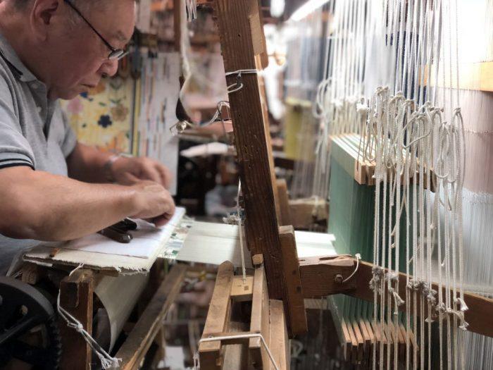 第3回 西陣シネマ 映画「古都」上映 × 西陣織手織り工場見学