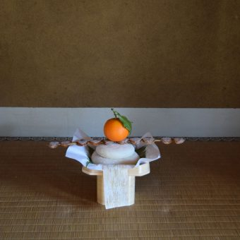 迎春 お庭初め「新春の庭で楽しむ-お正月特別ガイドと特別茶菓子」
