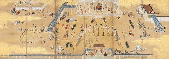 京都国立博物館 特集展示 初公開!天皇の即位図