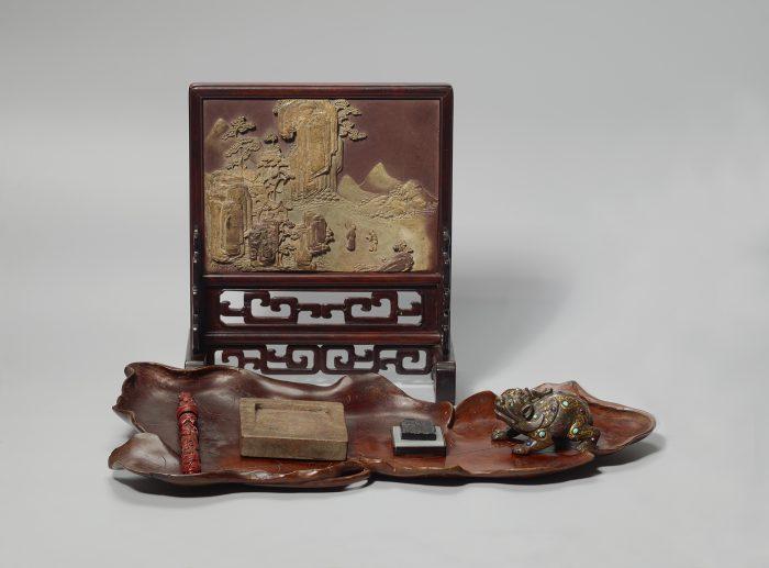 泉屋博古館 中国文房具と煎茶 -清風にふかれて