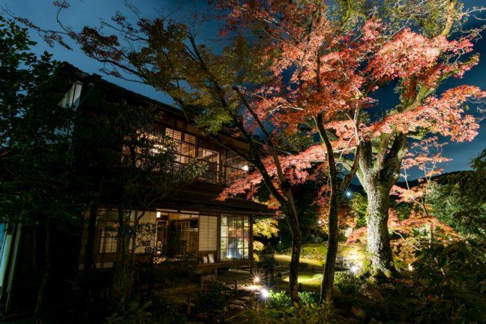 無鄰菴 秋の紅葉特別夜間公開‐トワイライト庭園パーティー2019