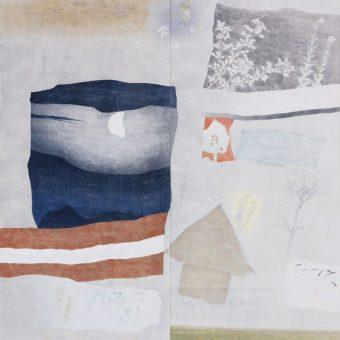 何必館 これからの日本画を考える 中野 弘彦 展 ―無常―