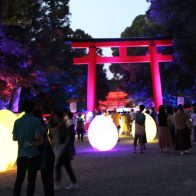 下鴨神社「糺の森の光の祭 Art by teamLab(チームラボ)」2019