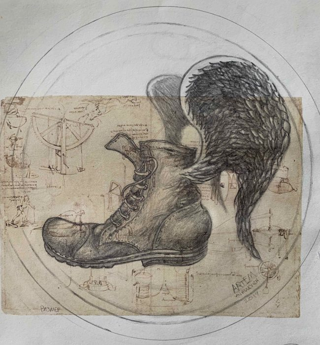 Artem Mirolevich 展(アルチョム・ミロレヴィッチ展) 「In Leonardo's shoes」
