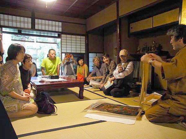まいまい京都【千両ヶ辻】元生糸問屋専務と、西陣・商家の内部を拝見ツアー!