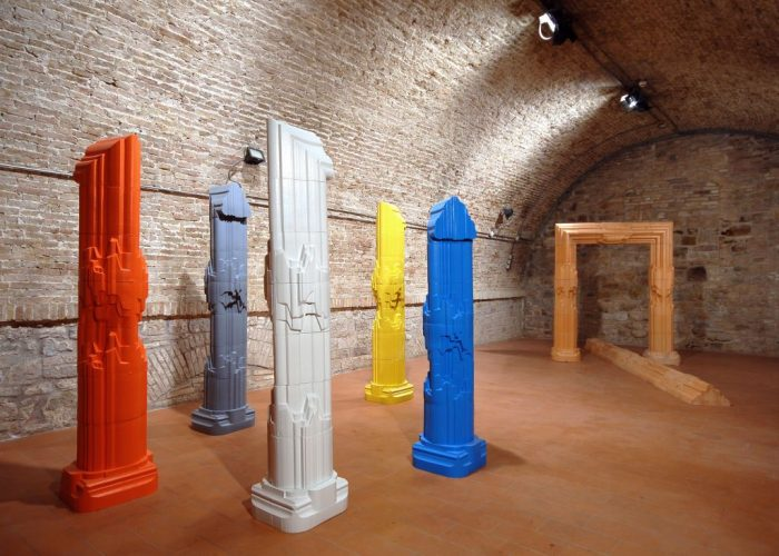 京都国立近代美術館  記憶と空間の造形  イタリア現代陶芸の巨匠 ニーノ・カルーソ