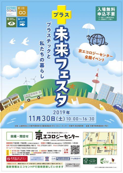 京エコロジーセンター +未来フェスタ~プラスチックと私たちの暮らし~