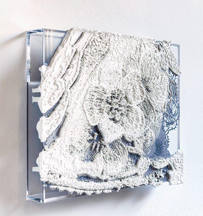 ワコールスタディホール京都ギャラリー 芳木麻里絵 個展『fond de robe ―内にある装飾―』