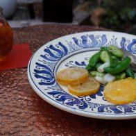 第1回 〝清明(せいめい)〟に「春の豆のサラダとレモンのおやき」を