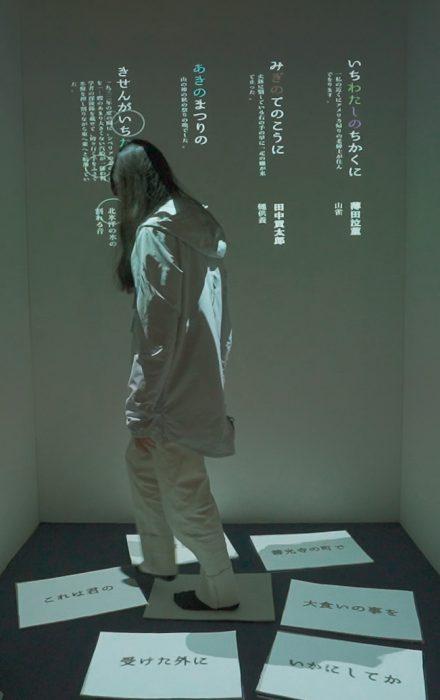 ワコールスタディホール京都ギャラリー 眞鍋美祈 個展『ことばにさわる』