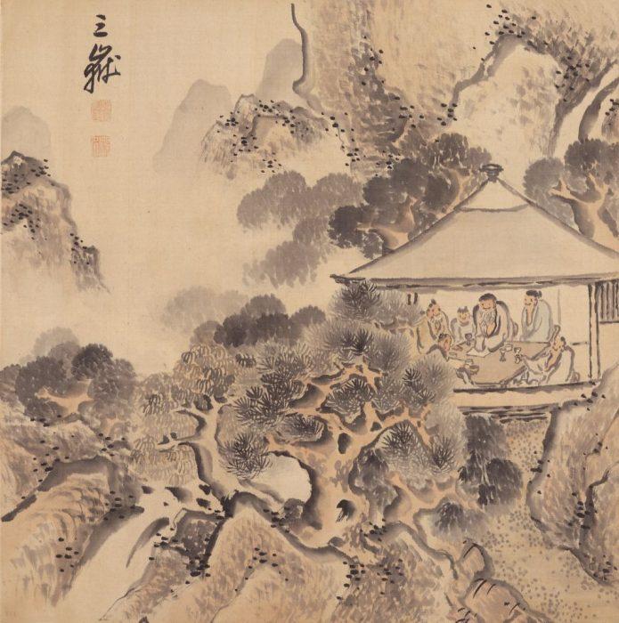 京都文化博物館 池大雅 ―文人たちの交流―